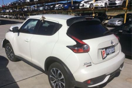2016 NISSAN JUKE J15 TURBO