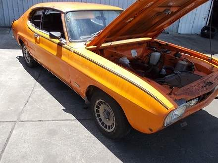 Ford Capri 1970 Parts And Wreckers Wrecking Campbelltown