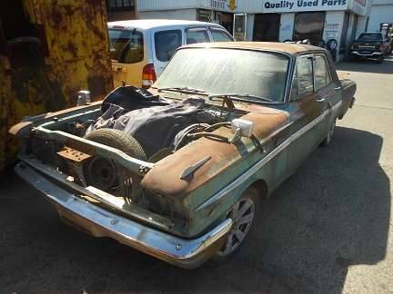 FORD Fairlane 1964 Parts and Wreckers Wrecking CAMPBELLTOWN