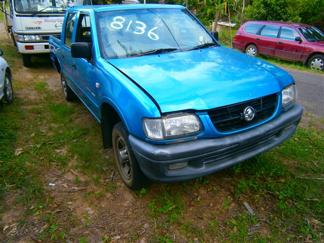 Holden Rodeo 2002 Parts And Wreckers Wrecking Cooroy